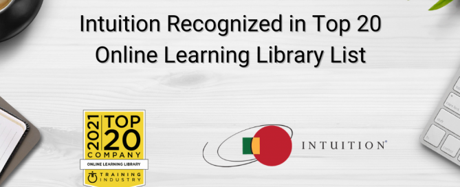 Intuition Recognized in Top 20 Online Learning Library List (1)