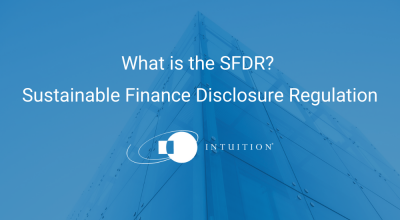What is the SFDR Sustainable Finance Disclosure Regulation